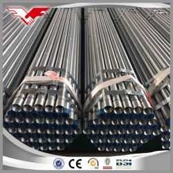 BS1387/En10255 tubo acqua in acciaio zincato a caldo Classe Gi B Classe C con estremità piana o filettata