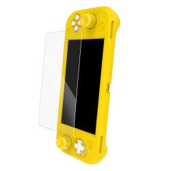 Étui en silicone avec tempérée de l'alcool Film Pack bouchon à bascule définie pour l'interrupteur à bascule de console de jeu Nintend capuchon Lite