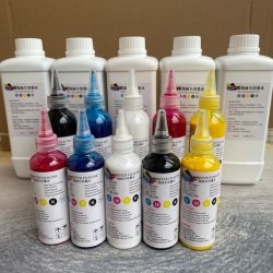 Textiel Pigment DTF Ink T-shirt Printing machine Printing Ink Voor hetelucht-melt kleeffilm warmteoverdracht DTF-inkt