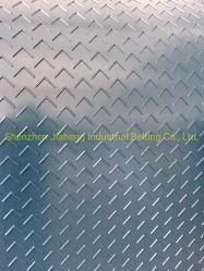 Multi V cinta transportadora de PVC de patrón de superficie rugosa
