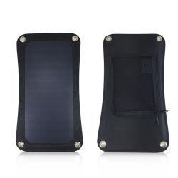 Qualität weg von Rasterfeld-Grün angeschaltener Energie faltbarer USB-SolarHandy-Aufladeeinheit