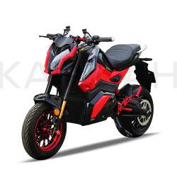 電気競争のオートバイ72V 20ah 2000WのスポーツのオートバイZ6
