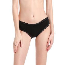 Европы и Соединенных Штатов новый тонкий Sexy Дышащий женских дамы нижнее белье хлопок низкой талии кружева штаны нижнее белье