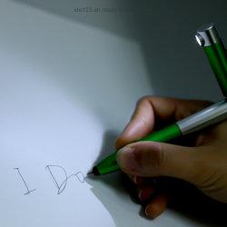 첨필 전화 홀더 펜 승진을%s 로고를 가진 다기능 LED 가벼운 볼펜