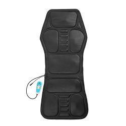 مقعد مزود ببطانة تدليك جلدية بالاهتزاز مزودة بنظام PU للسيارة مع تدفئة