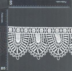 Testo fisso del merletto degli accessori dell'indumento della tessile della casa della ragazza di modo