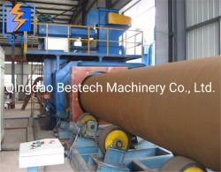 Tubo de Aço Shot Blast Seco/ Ferrugem Remoção da Máquina