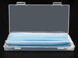 La bocca a gettare trasparente desonorizza le caselle provvisorie antipolvere di immagazzinamento in il contenitore del dispositivo di piegatura della casella di memoria