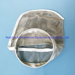 Smooth Surface Stainless Steel Mesh Filter Bag을 사용할 수 있습니다 반복해서