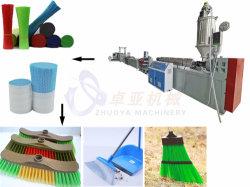 중국 최고의 품질 플라스틱 PP PET 단섬유 압출 기계 필라멘트 제작 장비