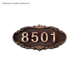 Shenone SS304 superventas de metal de forma redonda Sala de Té, placas de guía de la puerta de la dirección