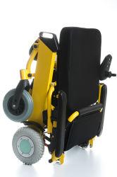알루미늄 스포츠 층계 Ce& 불리한 ISO를 위해 Liftable 팔걸이를 가진 상승 바퀴 휠체어를 경주하는 매우 가벼운 기동성 스쿠터 겹 전기 강철 힘