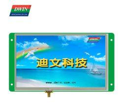 شاشة LCD بلوحة لمس بدقة 800*480 قياس 7 بوصات من Dwin 4 شاشة لمس مقاومة الأسلاك