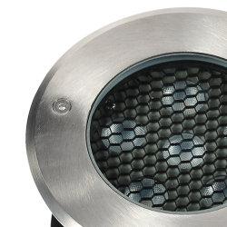 LED de alta calidad al aire libre enterrada lineal Luz superior