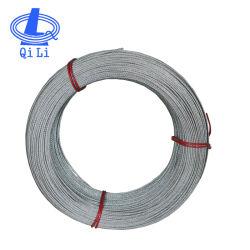 Commerce de gros en ligne 316 1X7 0.6mm câble corde de fils en acier inoxydable