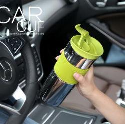 18oz da superfície do espelho de vácuo em aço inoxidável carro térmico chávena de café