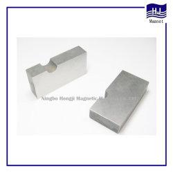 Fuerte poder bloque cuadrado de fundición personalizado imán AlNiCo Material magnético permanente