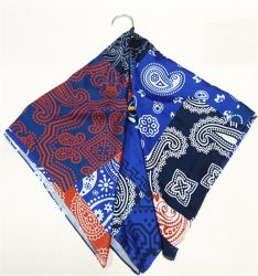 Impressão personalizada de alta qualidade de seda macio Scarves-Georgette Crepe Chiffon acetinado