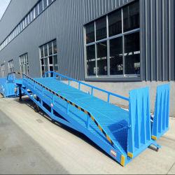Регулируемый вручную Загрузка контейнера док для мобильных ПК с плавным регулированием скорости