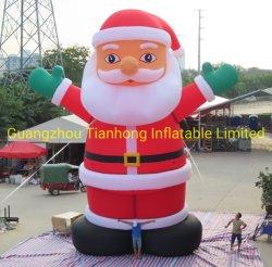 크리스마스 장식 10m Gaint의 팽창식 산타입니다