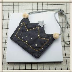 귀여운 크라운 쉐이프 걸즈 코인 백 지갑 어린이 크라운 숄더 백 작은 동전 지갑의 숄더 백 키즈 백 한 개 베이비 Wallet