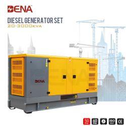 25kVA-1500kVA 침묵하는 디젤 엔진 힘 산업 사용을%s 전기 Cummins 디젤 엔진 발전기