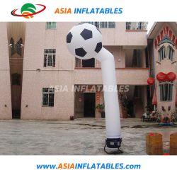 Inflatable Sky Air danseur de la publicité l'homme avec ventilateur