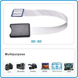 Adaptador Xaja Extensor Flexível/SD RS-MMC/SD HC/MMC para Microsd Cartão SD Cabo de extensão