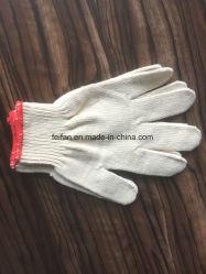 産業労働者のための熱い販売の新しいデザインによって編まれる綿の手袋