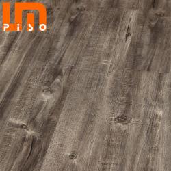 Ingeniería 8mm 12mm Gris Laminado Pisos de Madera de Roble Suelo HDF Fabricado en China