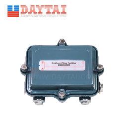 Todos los puertos de paso de alimentación equilibrada en el exterior de 2 vías, CATV divisor troncal