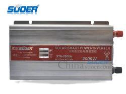 Изменения Синусоиды Invertor Suoer 2000W 12В постоянного тока 230V AC инвертирующий усилитель мощности со светодиодной подсветкой (STA-2000A)