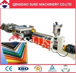 Рр полой упаковочный лист штампованный алюминий производственной линии с маркировкой CE (SJ120X33)