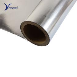 High-End Deklaag van de Stof van de Doek van de Aluminiumfolie van het Ontwerp de Vuurvaste PE Geweven