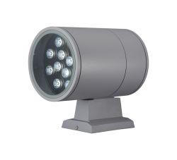 Projecteur mural LED RVB à haute efficacité énergétique une utilisation extérieure IP65 SS Carter de la lampe