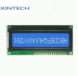 16X1 carácter LCM, pantalla LCD STN 1601 de 1601 caracteres en pantalla de iluminación de fondo amarillo