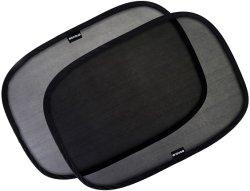 """Окно автомобиля тени - (4 шт.) - 21""""x14"""" солнцезащитная шторка с креплением для автомобилей - Sun, блики и УФ лучи защиту для вашего ребенка - Детский бокового стекла автомобиля солнцезащитных навесов"""