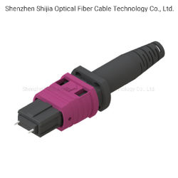 MPO/connecteur fibre optique du PSG 12/24 coeurs pour le centre de données