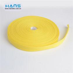 Hersteller-Großverkauf-buntes doppeltes Falten-Baumwollvorspannungs-Band Hans-China