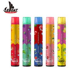 Venda por grosso de 6ml de líquido e cheio de sabores Dual 2000sopros e interruptor de sal de Cigarro Vape Pod 2 em 1 cigarros electrónicos descartáveis