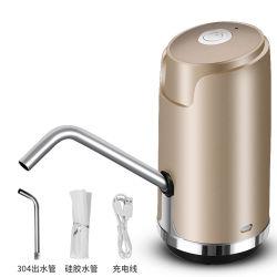 Amazon Bomba de acero inoxidable Venta caliente automático eléctrico pequeño mini portátil recargable para el agua dispensador de agua potable