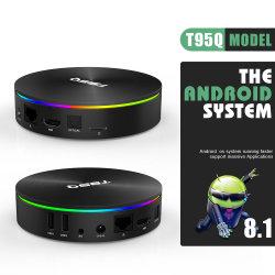T95q Amlogic S905X2 4G 32G HD Android 8.1 Amlogic S905X2 Android スマート TV ボックス 4GB RAM 32GB ROM セットトップ ボックスをクリックします