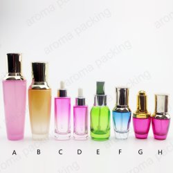 2019 Luxus Design Colorful Glass Perfume Bottle für Personal Care
