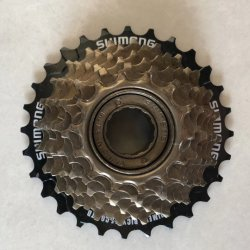 13t/14t//28t 5/6/7s Negro/marrón/Cp Velocidad única bicicleta rueda libre