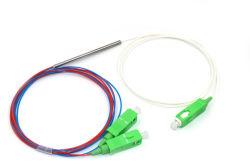 1X2 Sc/APC Stahlgefäß aus optischen FasernFbt Koppler