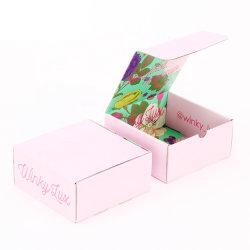 Custom напечатано белый гофрированный картон бумага почтовый ящик
