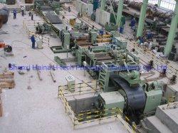 Riga automatica della macchina di taglio della bobina per il tubo di SSAW e di ERW