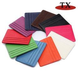 Großhandelsbank-Kreditkarte-Kasten-Förderung-Geschenk-Karten-Set kreativer PU-Leder-bekanntmachendes Kartenhalter