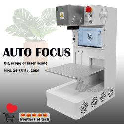 Автоматической фокусировки лазерного волокна постоянного маркировка уникальная метка на металлические банки