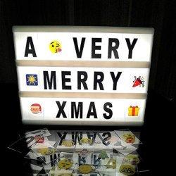 Manjar cinematográfico de caja de luz se enciende el LED Letter Box